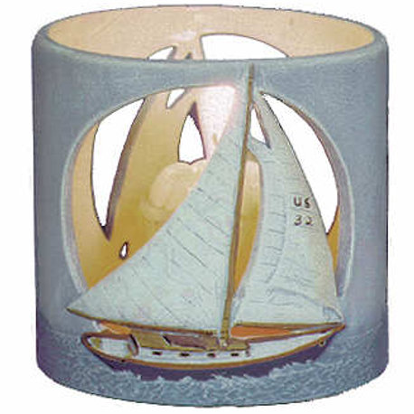 Sailboats Candleholder