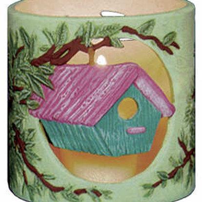 Birdhouses Candleholder