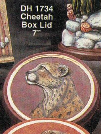 Cheetah Box Lid