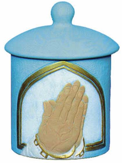 Praying Hands Candleholder