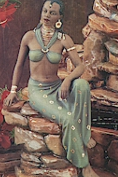 Sitting African Woman