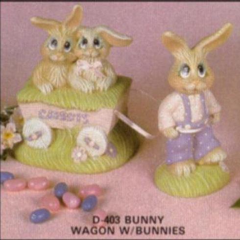 Dona's Bunnies & Wagon