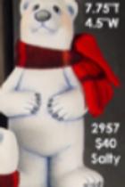Clay Magic Bundle Up Polar Bear (Salty)