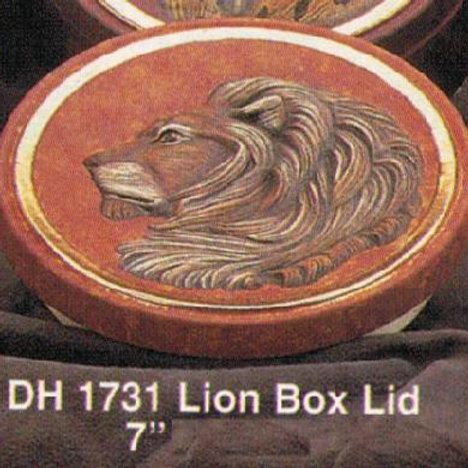 Lion Box Lid