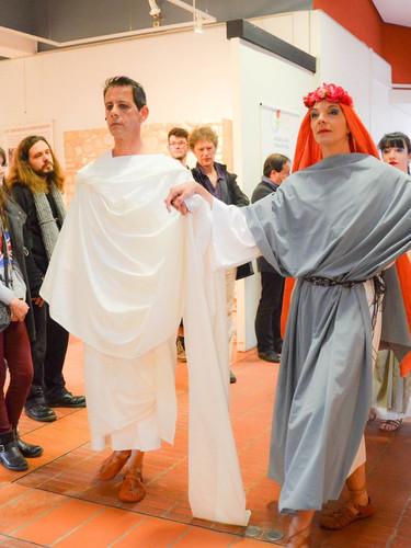 Défilé Electro Romain, Mars aux Musées
