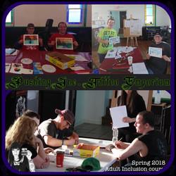 June 2018 Inclusion Art Class