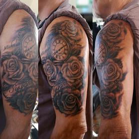 Tattoo by Jason  Pushing inc Barrie