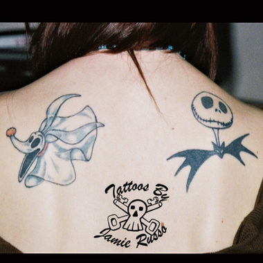 Nightmare before christmas Tattoo By Jamie Russo Barrie