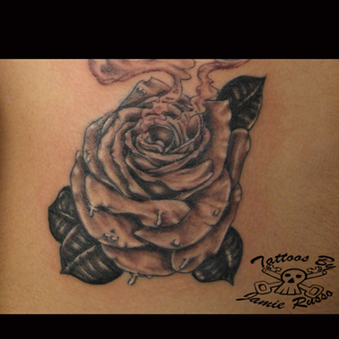 rose Tattoo by Jamie Russo Barrie