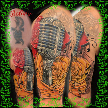 cover upTattoo by Jamie Russo Barrie