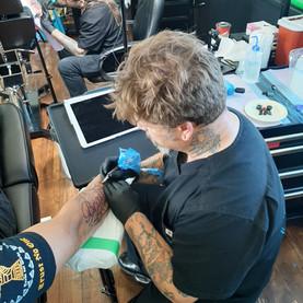 Jason working