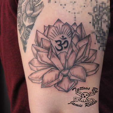 lotus Tattoo by Jamie Russo Barrie