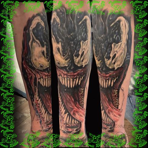 venum Tattoo by Jamie Russo Barrie