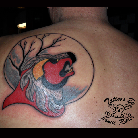 Tattoo by Jamie Russo