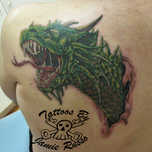 Dragon Tattoo by Jamie Russo Barrie