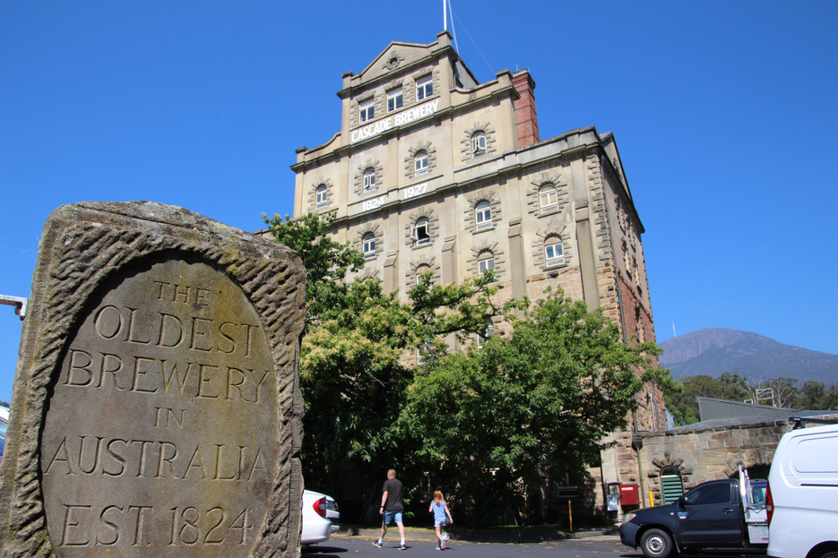 Cascade Brewery, Hobart.... sadly a disappointment!