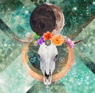 Taurus New Moon ~ Release the old Programs, Innovate and Awaken your Psychic Senses