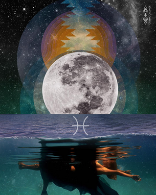 Pisces Full Moon / Sun in Virgo