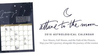 Attune to the Moon Astrological Calendar