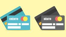 Débito e crédito!