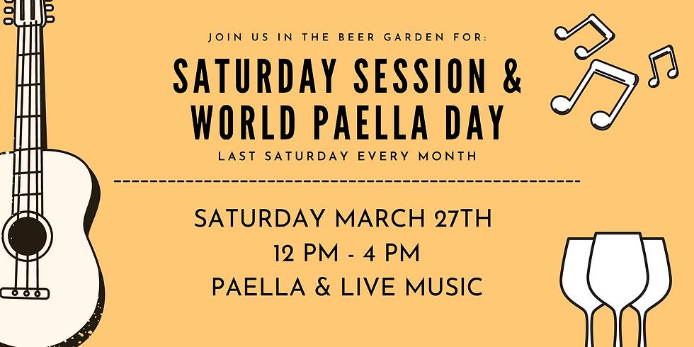 Saturday Session & World Paella Day