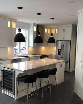 Rénovation cuisine, Coteau-du-Lac, design d'intérieur Vaudreuil-Soulanges, Montréal Ouest
