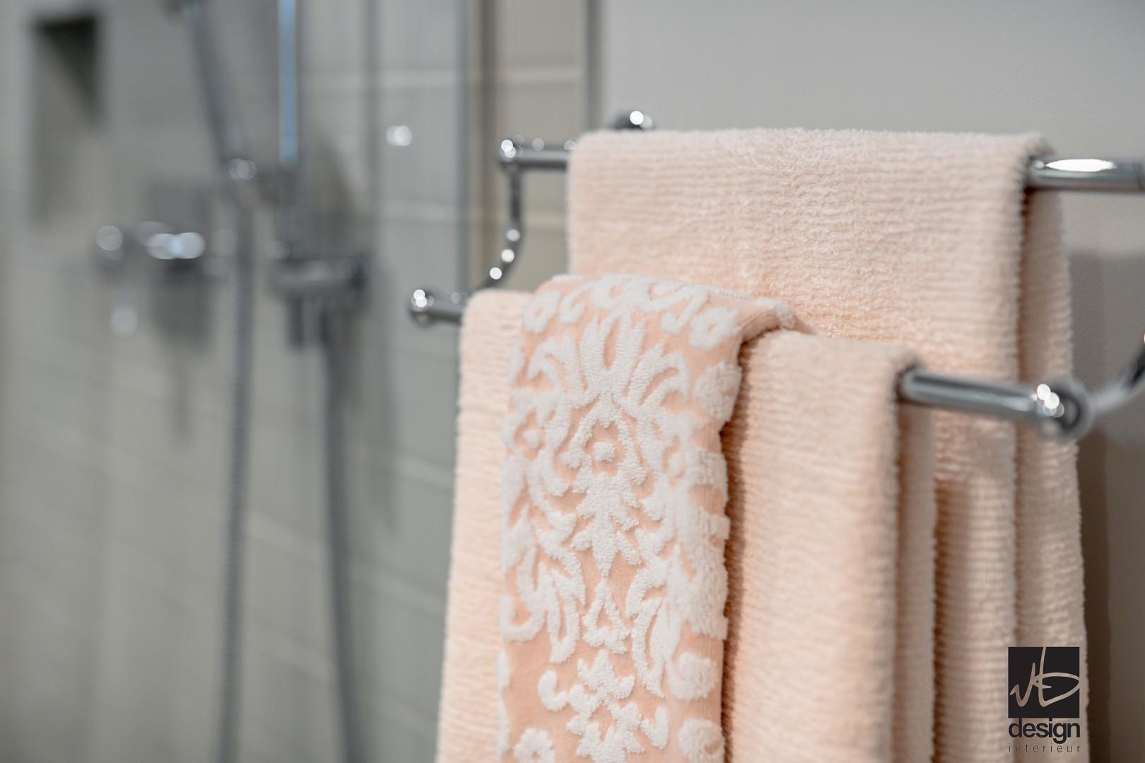 Rénovation salle de bain classique à St-Lazare