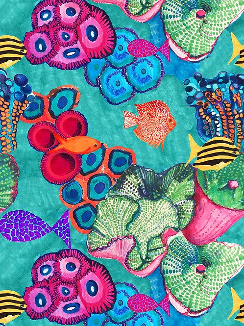 Under the Sea A4 Print