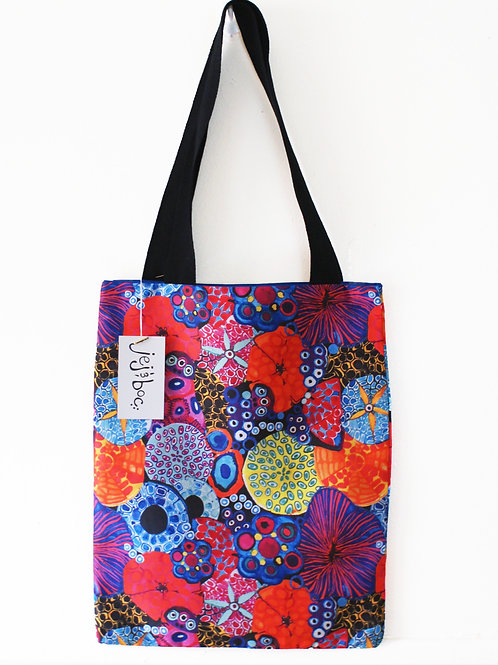 Colourful Coral Tote Bag
