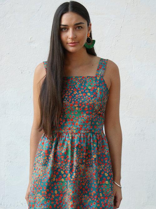 Ditsea Dots Apron Dress