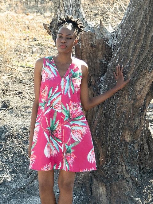 Proteas of Joy Shift Dress