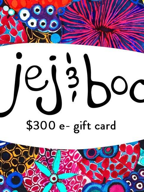 $300 e- gift card