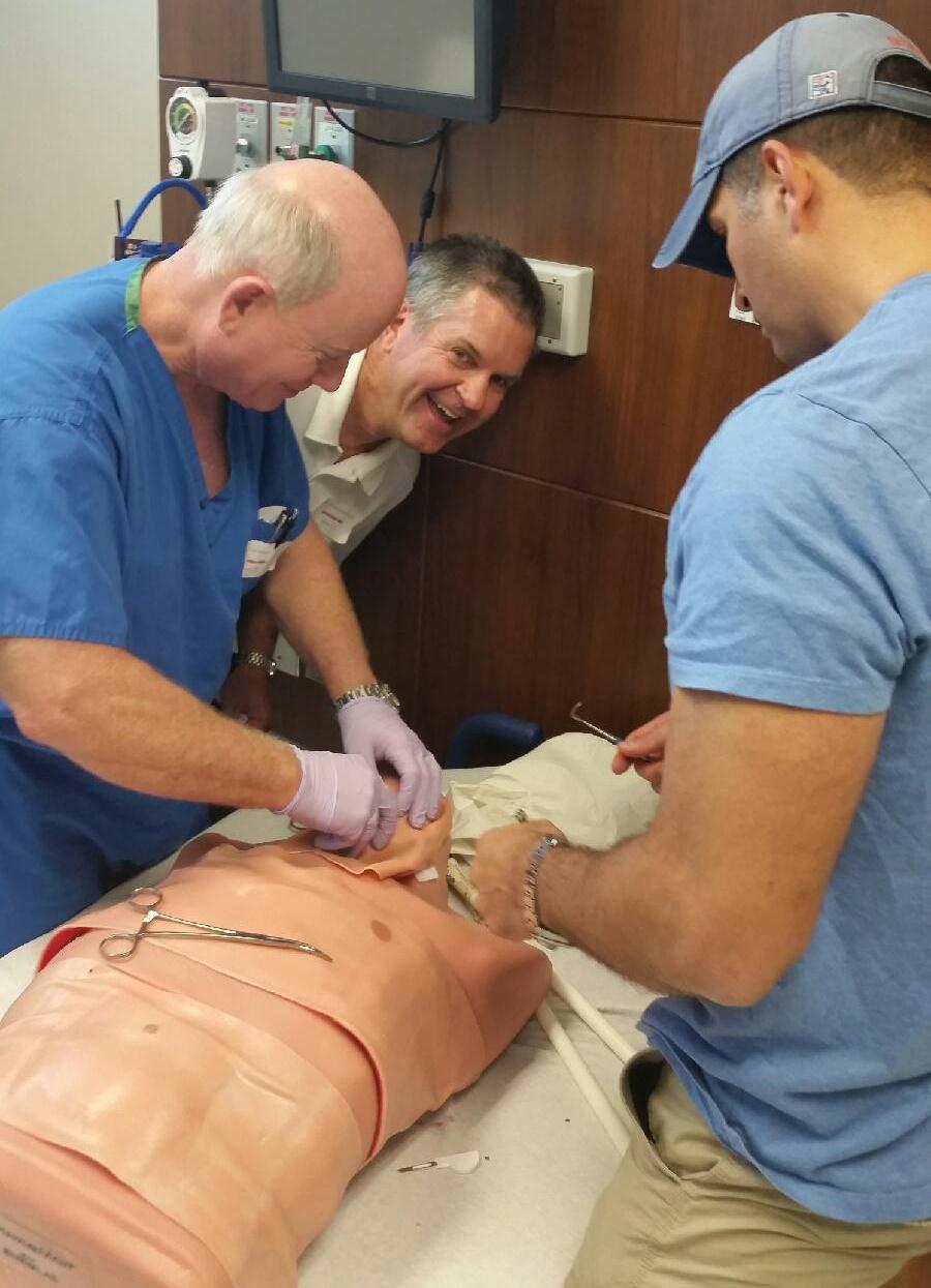 ATLS training at USF CAMLS