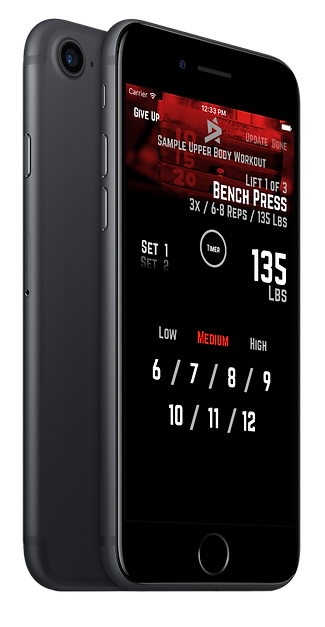R5 Training, workout app