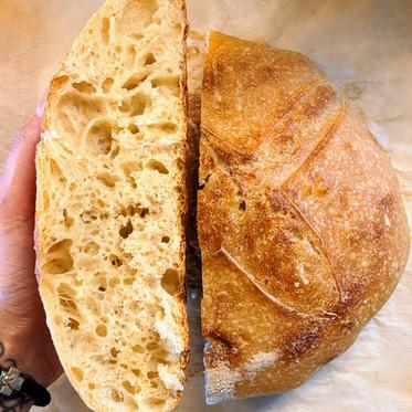 """Basically Gluten-Free"" Sourdough Bread Recipe"