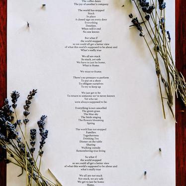 COVID-19: A Poem