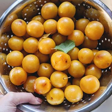 Spiced Mirabelle Plum Jam