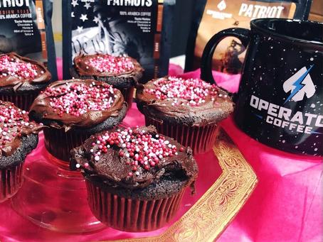 Operator Coffee Chocolate Cupcakes