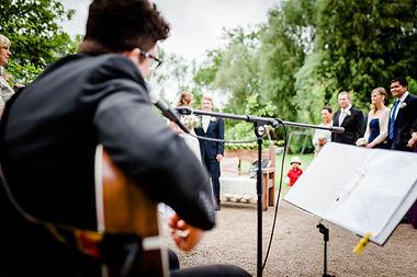 Freie Trauung mit Hochzeitssänger Hamburg Philippe Claassen
