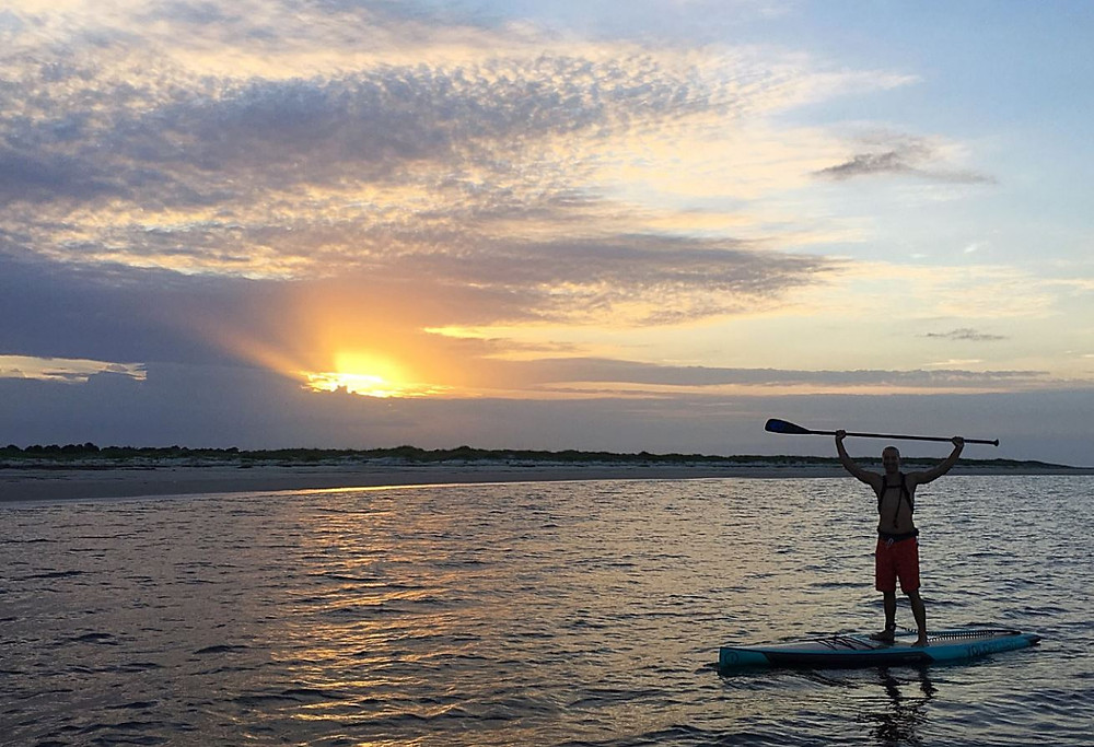 Stand-up paddle boarding Amelia Island
