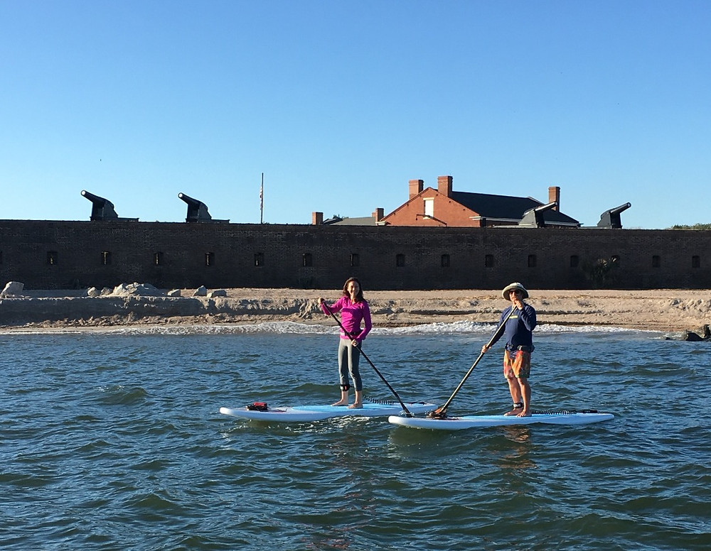 SUP tour to Ft. Clinch