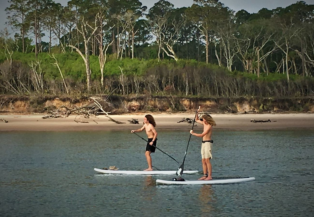 SUP lessons and tours Fernandina Beach
