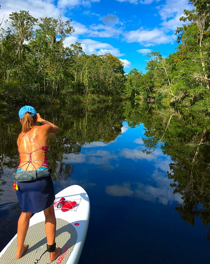 best place to learn how to paddle board