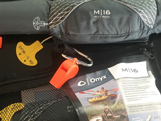 PFDs Required in SUP Racing - Review of the Onyx M-16 Inflatable PFD Belt