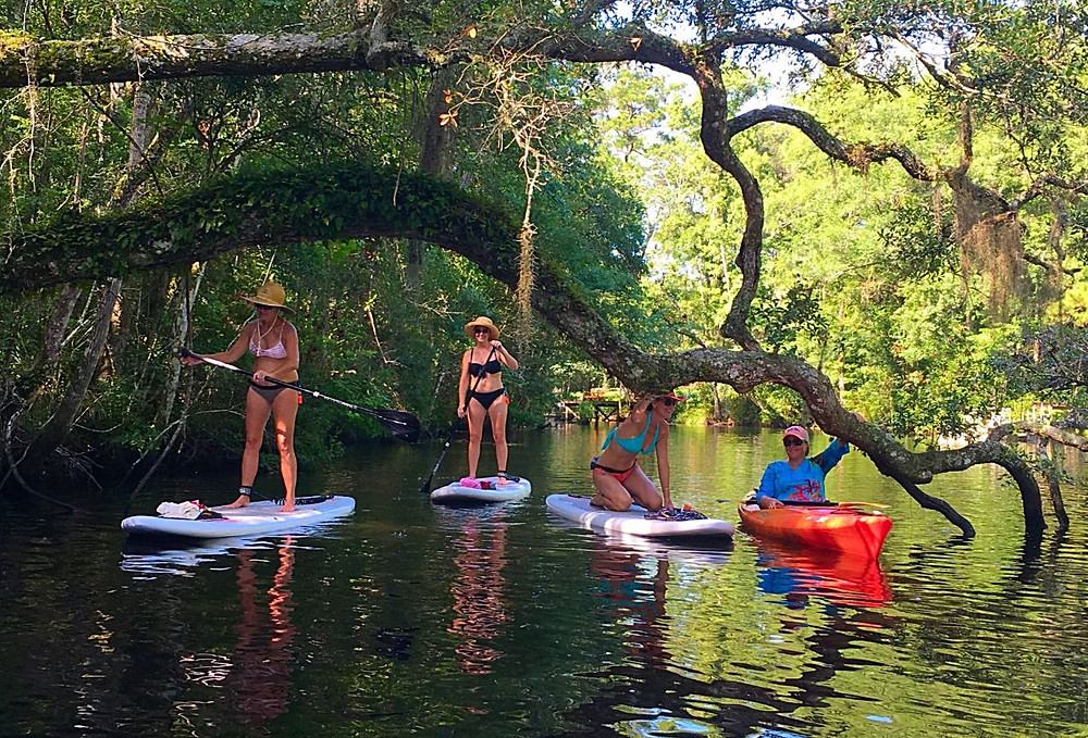 most popular place to paddle board