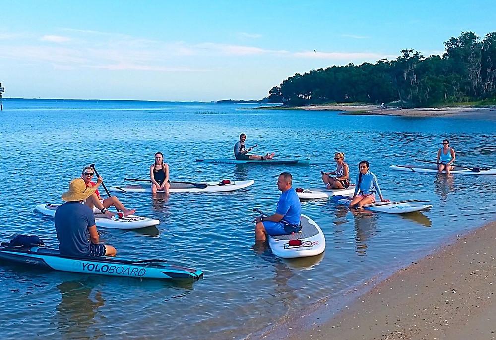 best place to learn to paddle board