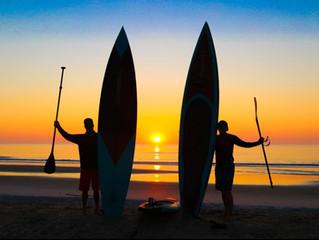Amazing Paddles on Amelia Island - No. 1 Ocean Sunrise