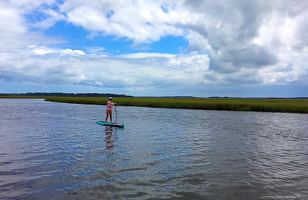 paddle boarding lessons Amelia Island