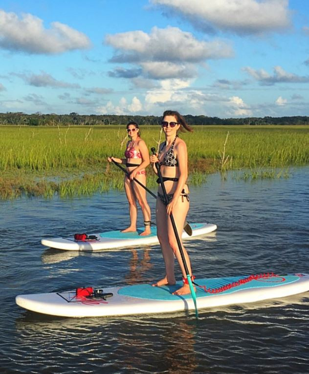 SUP lessons and tours on Egans Creek