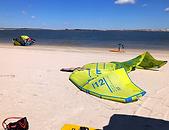 flat water kite spot